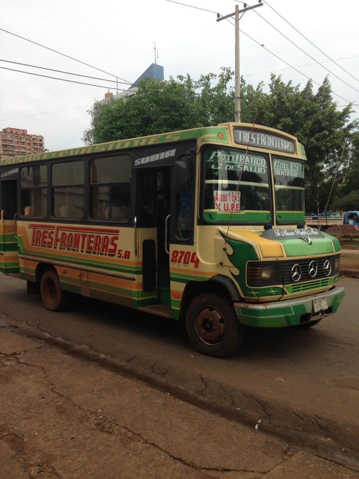 Paraguay Gezi Rehberi - Şirin Paraguay Otobüsleri
