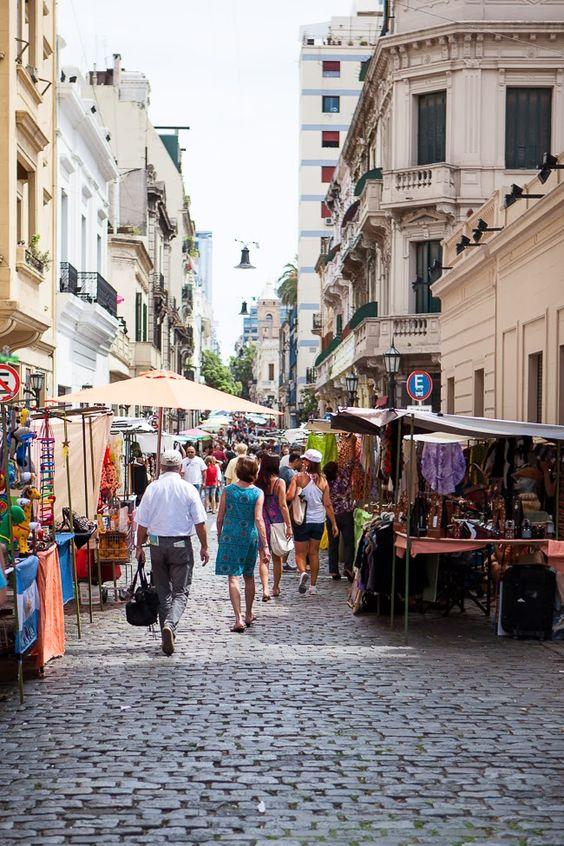 Buenos Aires Gezilecek Yerler - San Telmo