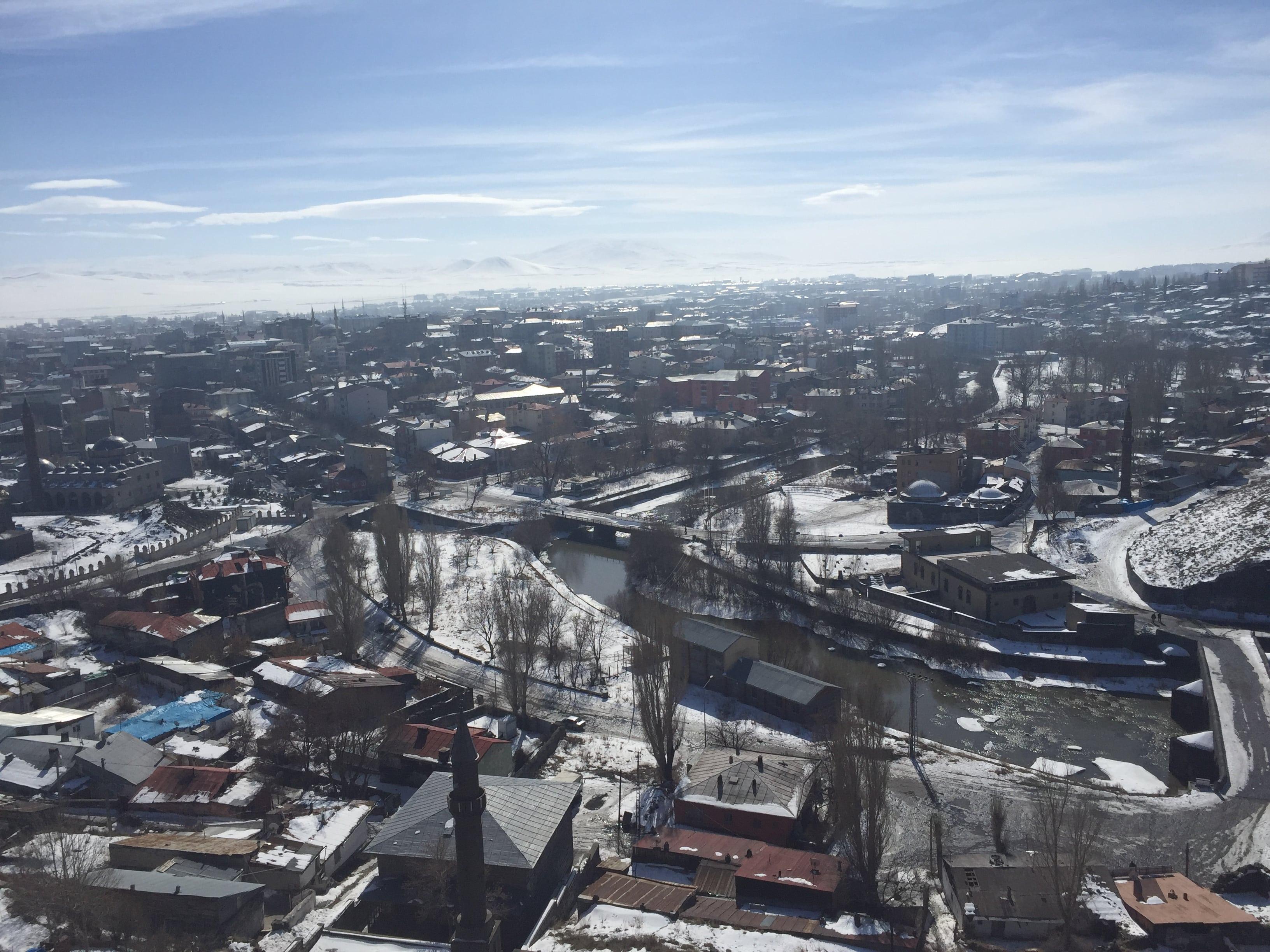 Kars Kalesi'nden Şehre Bakış