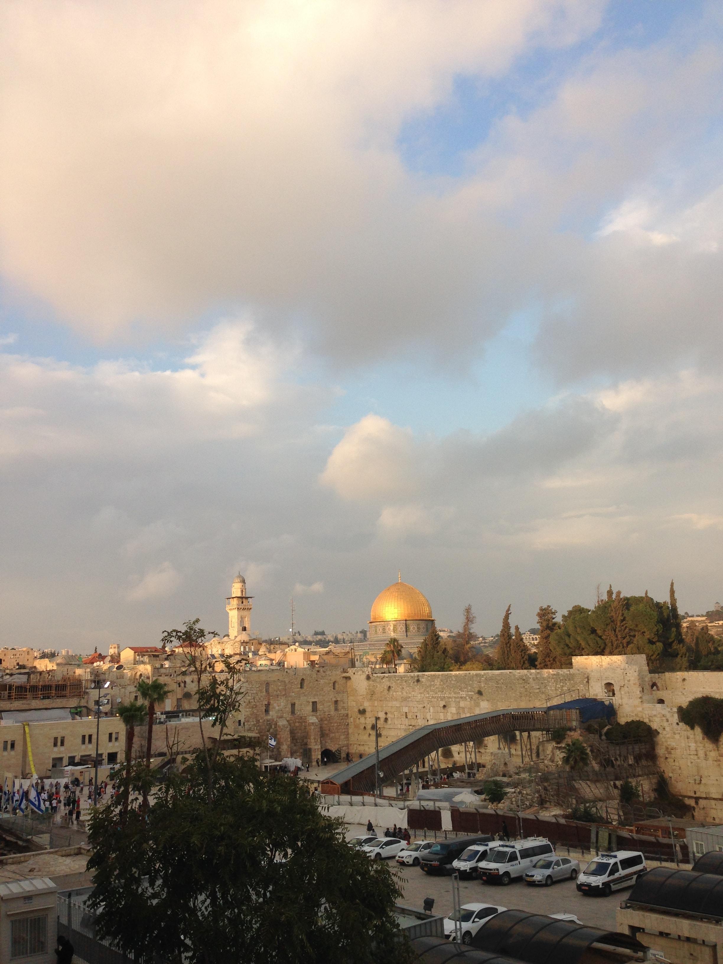 Ağlama Duvarı ve Kubbet-üs-Sahra