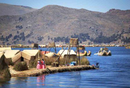 Peru Gezilecek Yerler : Titicaca Gölü