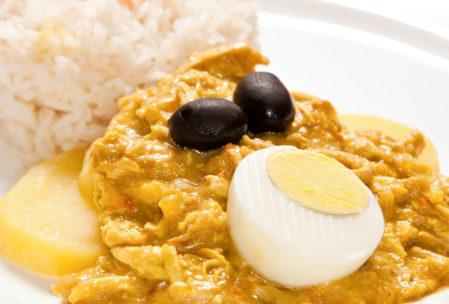 Aji de Gallina - Peru yemekleri