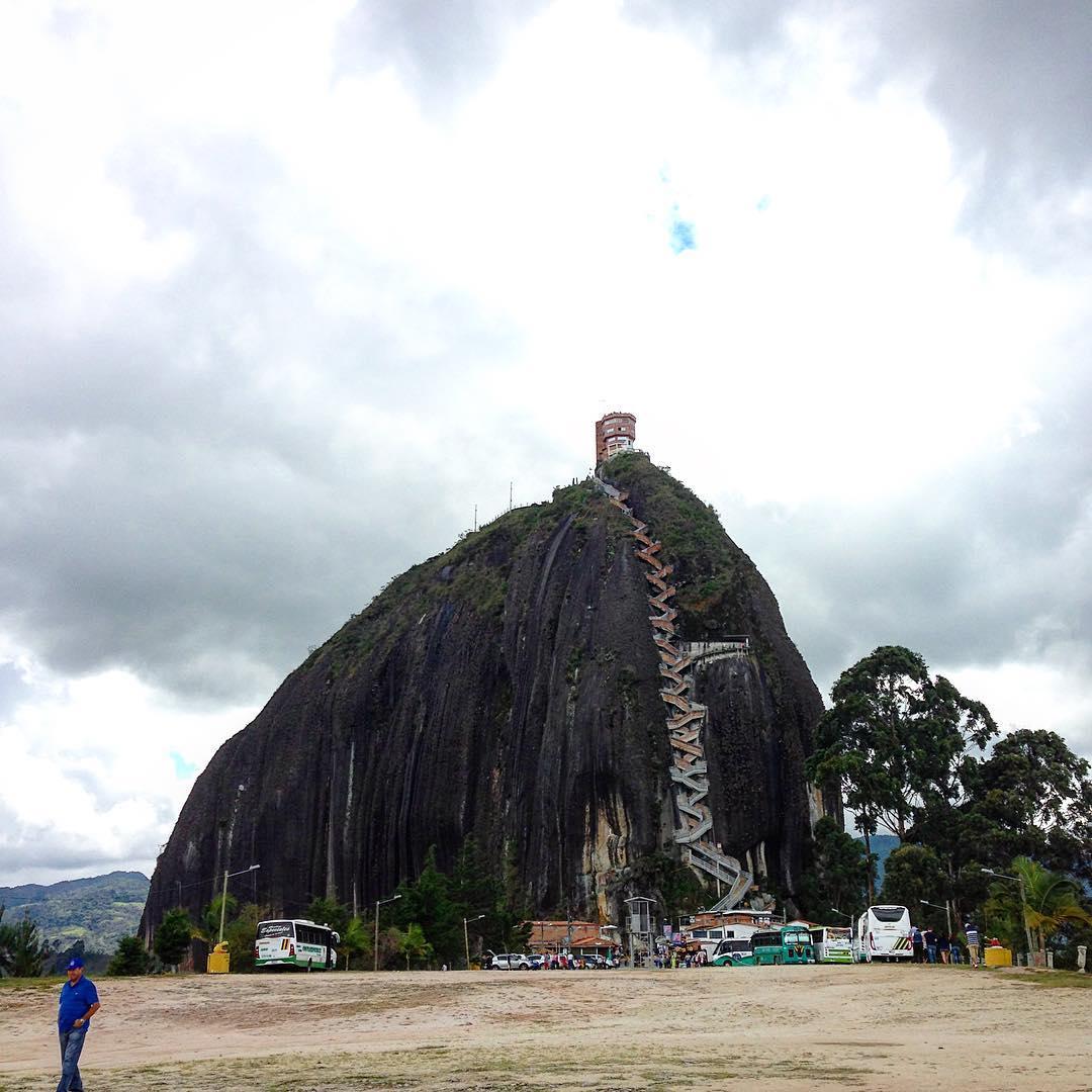Guatape - Kolombiya Gezilecek Yerler