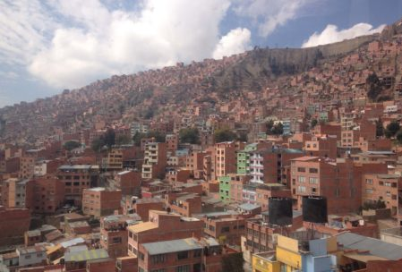 bolivyanın başkenti la paz