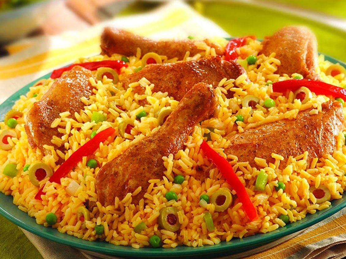 Tavuklu Pilav - Kolombiya Yemekleri - Beyefendi Gibi