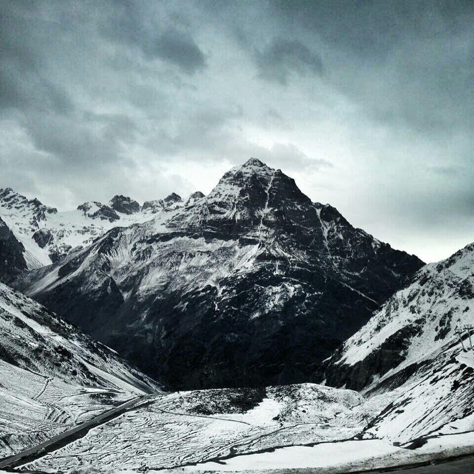 Şili Gezilecek Yerler - Karla Kaplı And Dağları