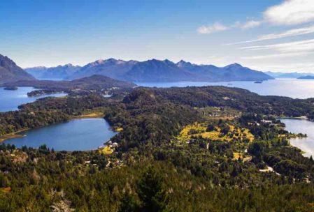 Arjantin Gezilecek yerler listesinin gediklisi. Bariloche