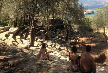 Sedir Adası Antik Tiyatro - Kedria