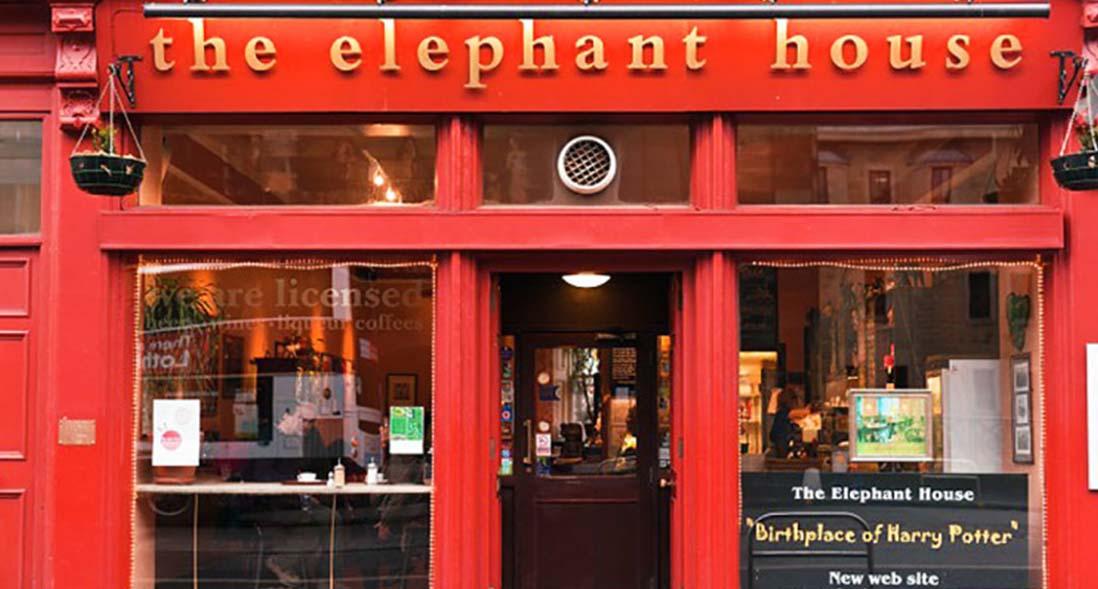 Elephant House Cafe, Harry Potter serisinin doğduğu yer