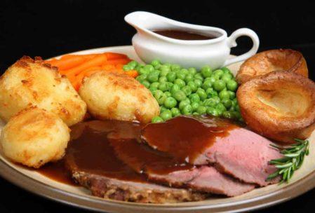 İngiliz Mutfağı listesinin başında gelenlerden: Sunday Roast