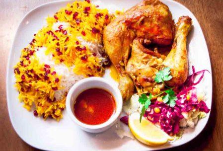 Zereşk Polo-İran yemekleri
