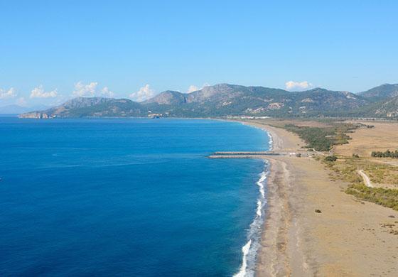 Sarıgerme Plajı nerede ve Sarıgerme Plajına nasıl gidilir?