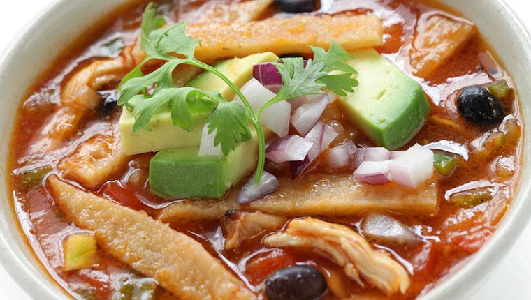 Meksika Çorbası - Meksika Yemekleri