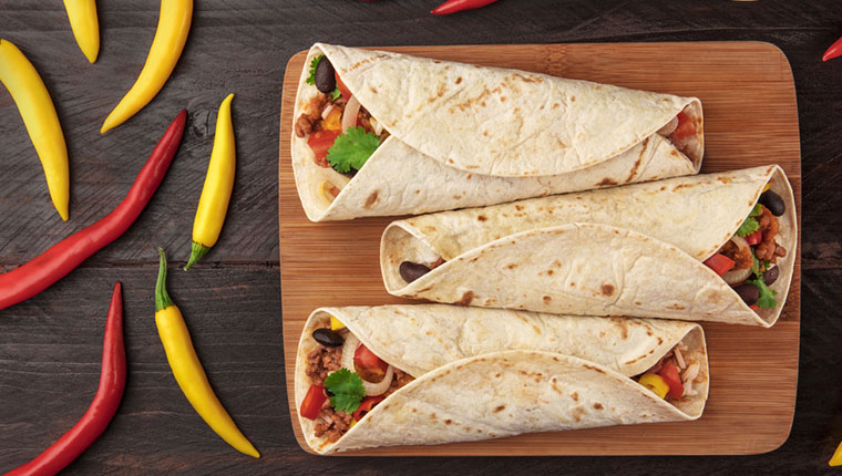Meksika dürümü: Burrito