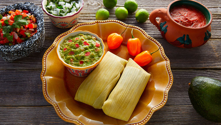 Meksika Yemekleri: Tamale