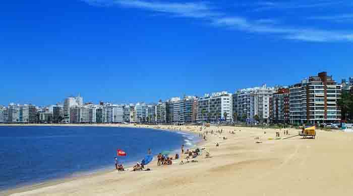 Uruguay Hakkında Bilgiler - Montevideo Sahili
