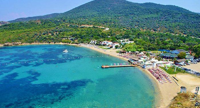 Foça Hanedan Beach - Foça Plajları